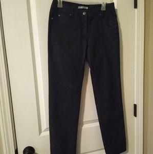 Kenneth Cole trouser jeans dark wash 4 straight